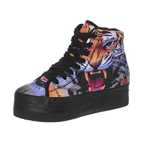Tiger Multicolor CampbellHomg Jeffrey Print B JKlc3uTF15
