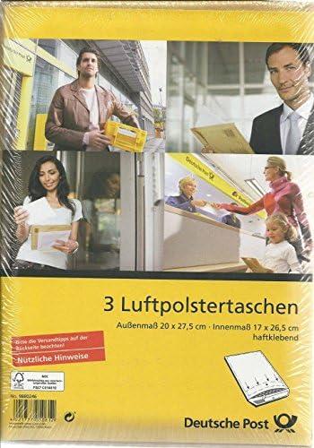 50 Luftpolsterversandtaschen Luftpolstertaschen Gr B//2 wei/ß 135 x 225 mm DIN A6