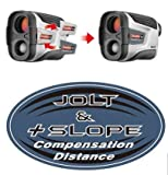CaddyTek Golf Laser Rangefinder with Slope and Jolt Function