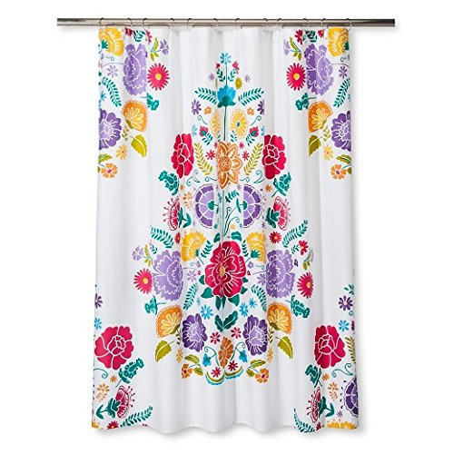 Pillowfort Floral Fiesta Shower Curtain