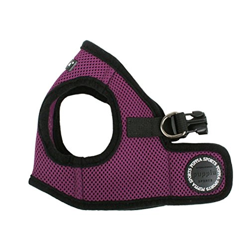 Puppia Step-In Soft Vest Dog Harness - Purple - MD (14.5'-16' Girth)