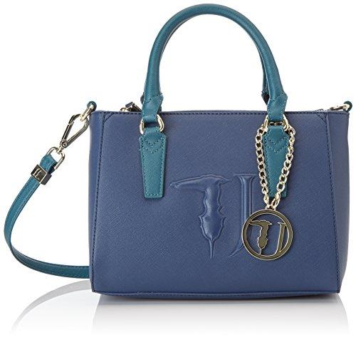 Trussardi Jeans Ischia Mini - Bolsos bandolera Mujer Azul (Blue/Green)