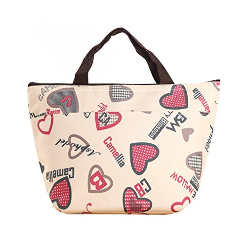 Lunch Bag Waterproof Picnic Tote Bag RALMALL Insulated Lunch Cooler Bag Lunch Holder Lunch Container Travel Zipper Organizer Box for Women Men Kids Girls Boys Adults (Type3)
