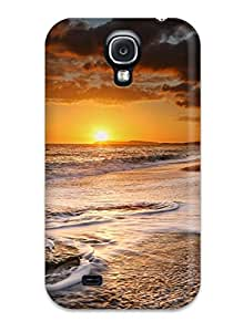 hudson kim's Shop New Style Fashion Tpu Case For Galaxy S4- Sunset Defender Case Cover