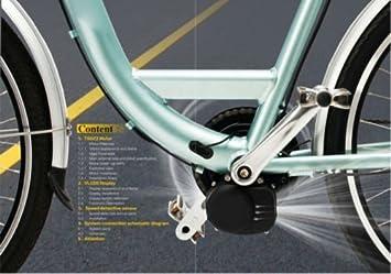 TSDZ2 Kit de motor de conversión central para bicicletas ...