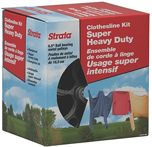 Strata Clothesline Kit Super Heavy (Metal Winch Cable)