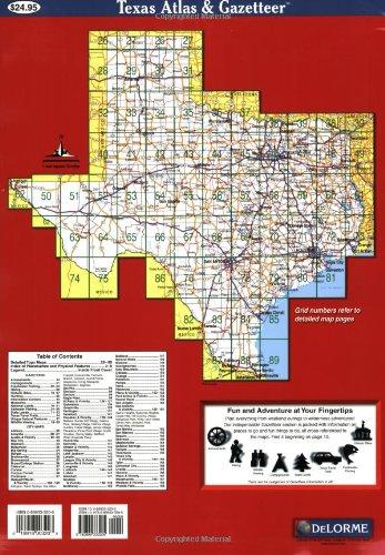 Texas Atlas Gazetteer Delorme Atlas Gazetteer Delorme Null - Atlas map of texas