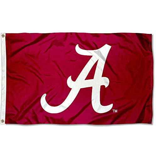- Alabama Crimson Tide Bama University Large College Flag