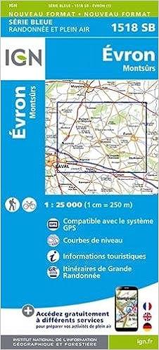 En ligne téléchargement gratuit Evron/Montsurs : 1518sb epub pdf