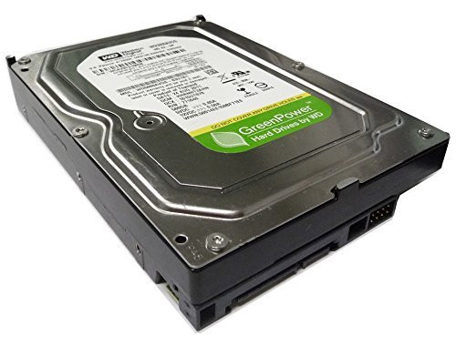 Western Digital WD AV-GP 500GB 32MB Cache SATA 3.0Gb/s 3.5inch (CCTV DVR, PC) Internal Hard Drive (Low power, Quiet) -w/1 Year Warranty ()