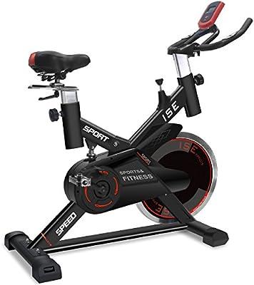 ISE SY-7005-2 Bicicleta estática con ergómetro para cardio, con ...