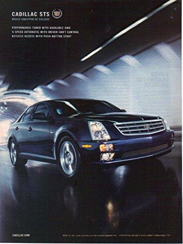 Print ad: 2006 Cadillac STS black