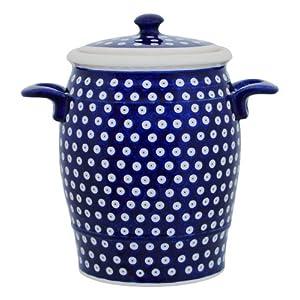 Original Boleslawiec Rum Pot 4,2 Litre – Bunzlauer Multi-Purpose Ceramic Pot Decor 42