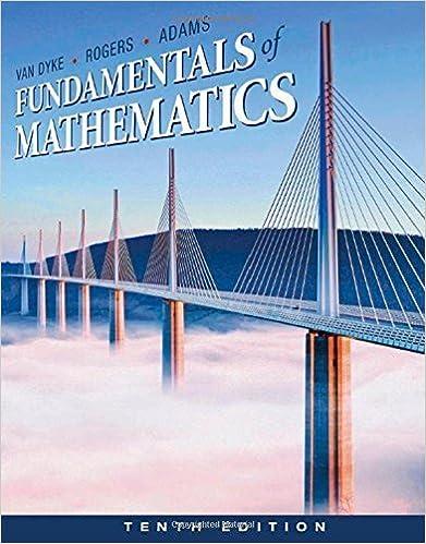 Book Fundamentals of Mathematics by James Van Dyke (2011-01-01)