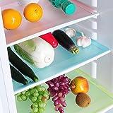 4 PCs/set Refrigerator Pad Antibacterial Antifouling Mildew Moisture Tailorable Pad Refrigerator Mats Fridge Waterproof