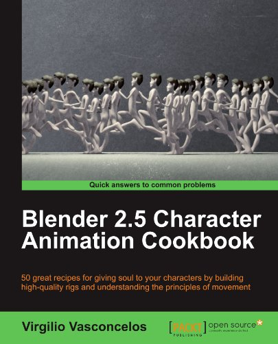- Blender 2.5 Character Animation Cookbook