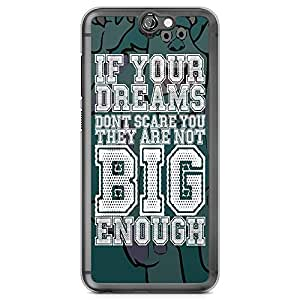 Loud Universe Sully Quote HTC A9 Case monsters Inc HTC A9 Cover with Transparent Edges