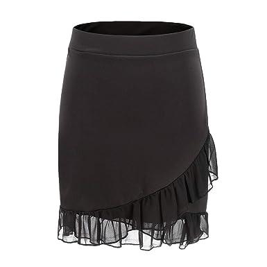 Tyeel - Falda Corta para Mujer con Falda Corta y pantalón Corto ...