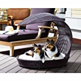 The Refined Canine's Outdoor Dog Chaise Lounger
