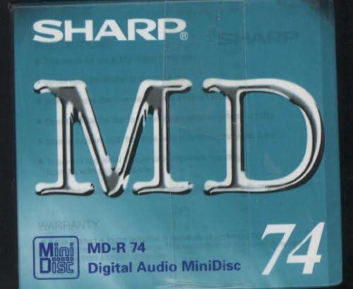 Sharp Md R74 Blanko Minidiscs 5 Stück