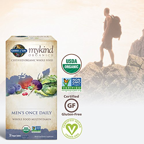 Garden of Life Kind Organics Men's Once Daily Tablets