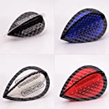 5 x Mixed Sets of Dimplex Colours Dart Flights Pear Shape by PerfectDarts by PerfectDarts