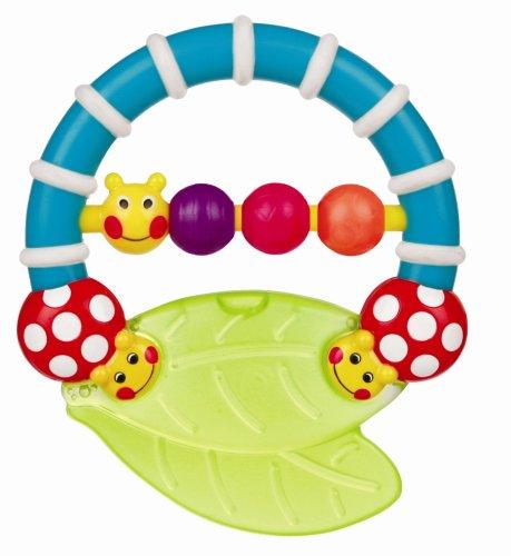Water Sassy Teethers Filled (Sassy Twirl & Teethe Caterpillar Teether Baby Toy)