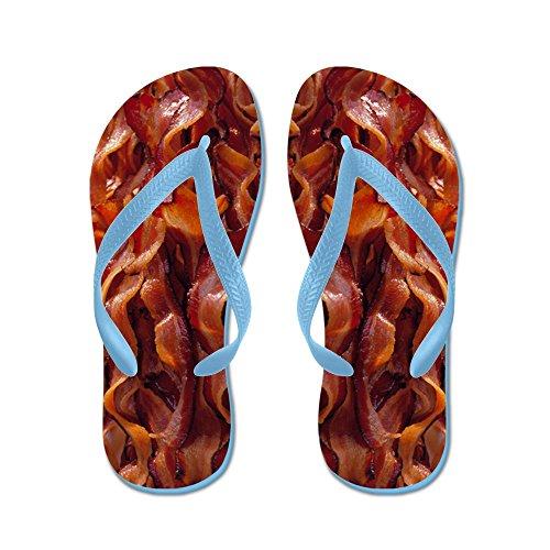 Cafepress Bacon Flops - Tongs, Sandales String Drôle, Sandales De Plage Bleu Caraïbes