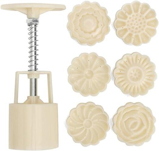 Set Mondkuchen form Kochen Küche DIY Backen Gebäck Form Dekorieren 75g