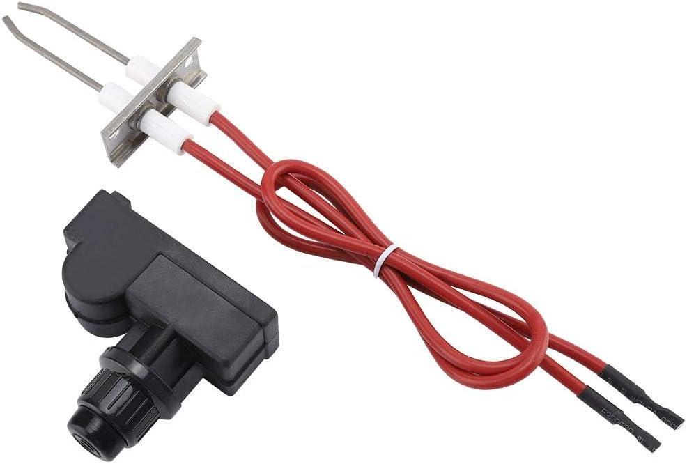 Jeffergarden Generador de Chispas Universal Portátil y Liviano Batería AA Picnic Parrilla de Gas Botón de Encendido para Modelos de Parrillas a Gas