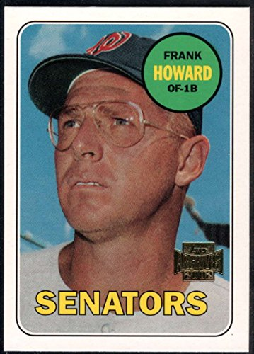 2002 Topps Archive Card (Baseball MLB 2002 Topps Archives #123 Frank Howard NM-MT Senators)