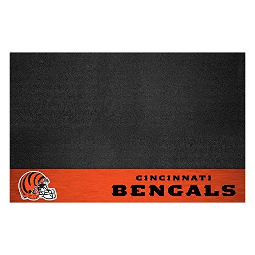 Fanmats 12180 NFL Cincinnati Bengals Vinyl Grill Mat (Nfl Vinyl Bengals)