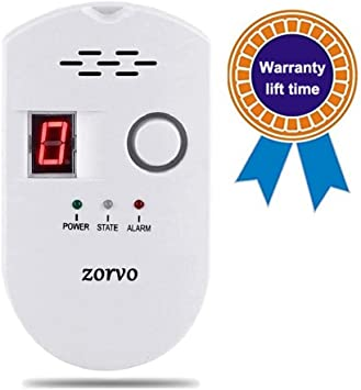 Propane and Natural Gas Detector Reliable Plug in Gas Alarm for Home//Kitchen//RV Stove Tops High Sensitive
