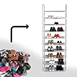 Shoe Cabinet Shoes Rack Prevent Dust And Moisture Storage Large Capacity Home Furniture DIY Simple - 10 Layers