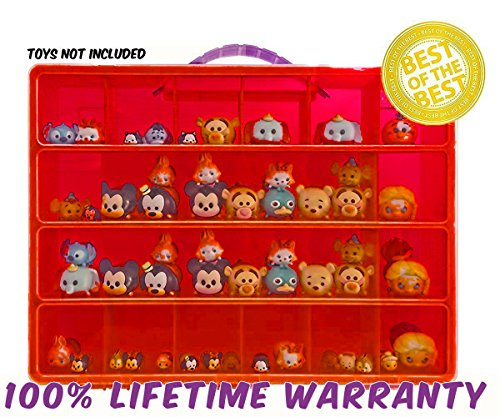 [Life Made Better Toy Storage Organizer. Fits Up to 40 Figures. Compatible With Tsum Tsum TM Mini] (Pumbaa Halloween Costumes)