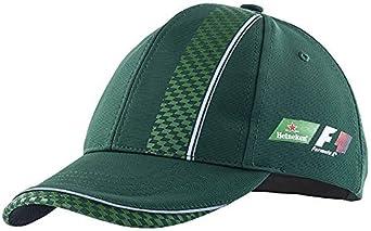 Heineken Gorra Fórmula 1 (F1) Tipo Béisbol - Verde Oscuro con ...