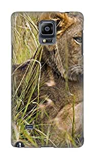 New Fashionable Storydnrmue PfmqOS-6149-IVoeB Cover Case Specially Made For Galaxy Note 4(Animal Lion)
