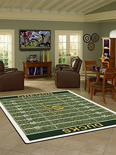 Oregon College Home Football Field Rug: ()