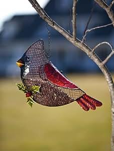 Hanging Cardinal Bird Feeder