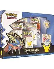 Pokémon TCG: Celebrations Deluxe Pin Zacian LV.X Booster Collection Box