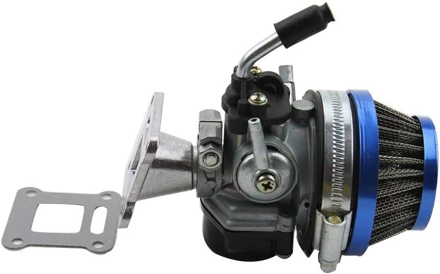 Dirt Bike ATV Quad 4pcs Queta Carburador para Motor de 2 tiempos 49cc 47cc 43cc Carbu con Filtro de Aire Adecuado para Mini Pocket Bike Go Kart