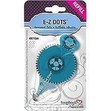 3L 01203-MP Scrapbook Adhesives E Z Dots Refillable Permanent Runner Refill Cartridge, 49' - Set of 6