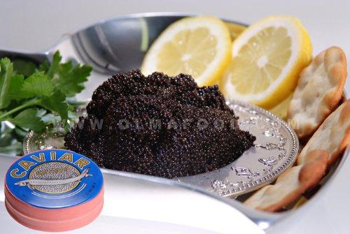OLMA Siberian Osetra Aurora Black Caviar 4.4 oz (125g) Metal Tin