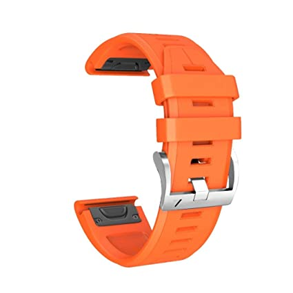For Garmin Fenix 5 Plus Straps Replacement Soft Silicone Lightweight  Ventilate Watch Strap Sweatproof Sport Wristband for Garmin Fenix 5 Plus  Smart