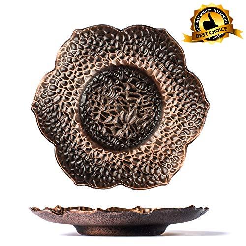 Log in Joy Decorative 6 Inch Tray for Home Decor + Agate Stones + Gift Box - Decoraciones para Salas de Casa -