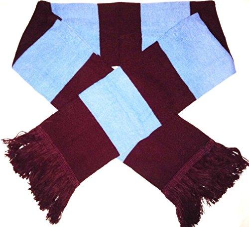 10-x-bordeauxrot-blue-traditionellen-retro-fuball-bar-schal-west-ham-farben