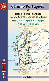 Camino Portugués Maps - 2017 edition: Camino Central + Camino de la