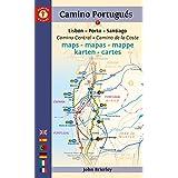 Camino Portugués Maps - 2016 edition: Camino Central + Camino de la Costa