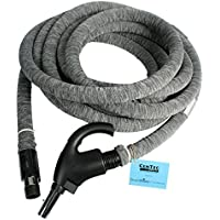 Cen-Tec Systems 90177 Central Vacuum Direct Connect Electric Hose with Hose Sock and Applied Anti-Microbial Spray, 35