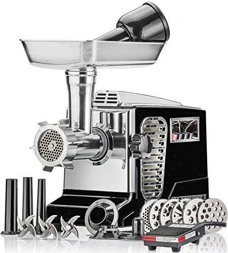 Electric Meat Grinder - Size #12 - Model STX-4000-TB2-PD - STX International...